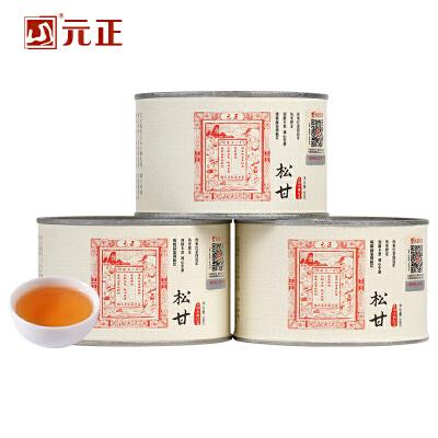 元正松甘正山小种红茶茶叶传统松烟熏罐装150g 松烟熏焙 桂圆汤香