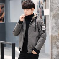 男士外套学生棉衣加厚2018冬季新款