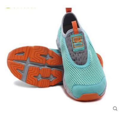 透气网布鞋运动跑鞋耐磨舒适轻便营地鞋徒步鞋户外男女情侣款 品质保证,支持货到付款 ,售后无忧