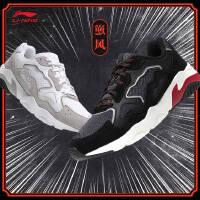 李宁休闲鞋女鞋2018新款逆风轻便耐磨防滑时尚经典低帮运动鞋AGCN378
