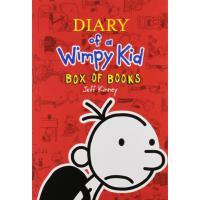 Diary of a Wimpy Kid Box of Books 1-10 英文原版 小屁孩日记1-10套装