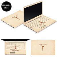 联想Z370 Z380 Z400笔记本电脑贴膜Z41 Z410外壳保护贴膜炫彩贴纸