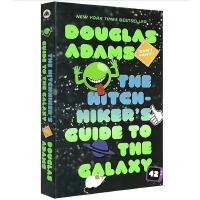现货 银河系搭车客指南英文原版 The Hitchhiker's Guide to the Galaxy 英文版科幻小说
