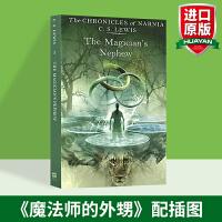 纳尼亚传奇1 The Magician's Nephew魔法师的外甥 英文原版小说 华研英文原版