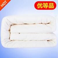 新疆棉花被芯全棉被子棉絮床垫被褥冬被单人学生宿舍加厚保暖棉胎