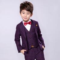 儿童西服男童西装套装2018新款韩版英伦男童礼服婚礼休闲花童帅气