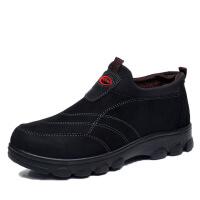 №【2019新款】冬天老年人穿的老北京布鞋男棉鞋加绒中老年人厚底爸爸加厚老人冬鞋