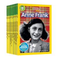 美国国家地理分级读物第二阶16册 动物系列 STEM阅读英文原版 National Geographic Kids R