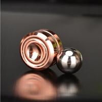 磁铁陀螺溜溜球电镀金属益智玩具减压指尖陀螺
