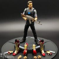优质国产 SHF钢铁侠手办模型玩具调试版 MK43托尼史塔克可动人偶