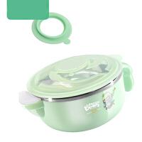 儿童餐具宝宝吃饭吸盘碗注水保温碗婴幼儿辅食碗不锈钢碗套装