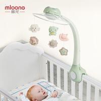 曼龙新生婴儿床铃音乐旋转0-6个月宝宝玩具床挂件男孩摇铃床头铃