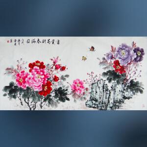 省美协   李华菊   富贵花开春满园  /14