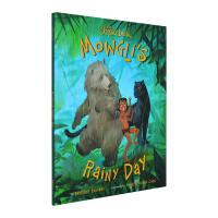英文原版 丛林故事 奇幻森林 精装 The Jungle Book Mowgli's Rainy Day 迪士尼系列故事