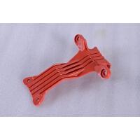 21国产米高儿童滑板车配件塑料件连接件红色底板连接片三轮四轮车 西瓜红 大米高连接片
