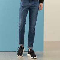 【1件3折到手价:59.7】美特斯邦威牛仔裤男新款春季潮流休闲弹力青年修身牛仔裤男