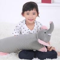 ???可爱天然卡通动物乳胶枕头儿童枕头单人记忆枕小孩趴趴枕