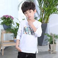 男童长袖T恤2018新款春装韩版儿童男孩上衣中大童打底衫体恤