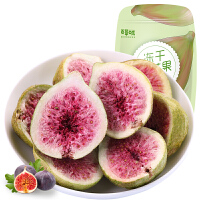 【百草味 -无花果干25g】休闲零食特产 冻干水果干 果脯蜜饯