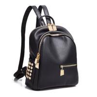 休闲女士背包简约旅行小包包 双肩包女韩版书包