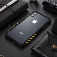 太乐芬 iPhoneX手机壳苹果X边框iPhoneXR工业风iPhoneXSMax防摔XS iPhoneX/XS白框黑
