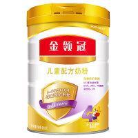 伊利 金领冠儿童配方奶粉 4段 900g 1桶