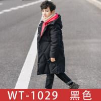 童装男童棉衣外套冬装2018新款儿童中长款加厚保暖棉袄韩版潮