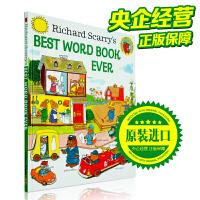 宝宝绘本 Best Word Book Ever!英文原版儿童读物启蒙 斯凯瑞图书