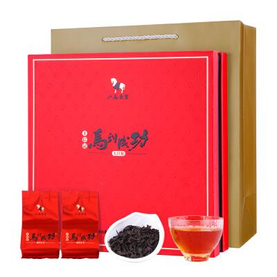 八马茶叶 王信记马到成功乌龙茶武夷大红袍岩茶礼盒装256克 醇正岩韵大气茶礼