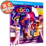 寻梦环游记 迪士尼故事书 英文原版绘本 Coco Read-Along Storybook and CD 进口童书 附