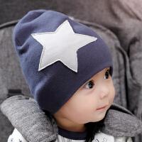 宝宝帽子秋冬季0-3个月6-12薄款新生儿春秋婴儿男女宝宝儿童潮12