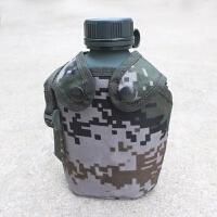 07军迷彩部队军训水壶10式1L户外旅行大容量水壶