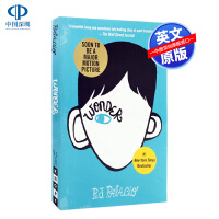 英文原版 奇迹男孩 wonder 奥斯卡提名 青少年青春励志小说 同名电影书 中小学生课外英语读物 R.J. Palac