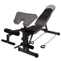 多功能卧推深蹲高拉扩背仰卧板哑铃凳 仰卧起坐板健腹板收腹机 室内健身器材家用