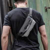 男士腰包时尚多功能包斜挎单肩包户外休闲运动健身手机包胸包