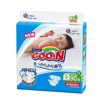 保税区直发 日本大王GOO.N纸尿裤 S90片