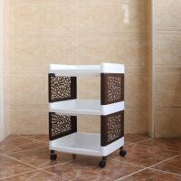 卫生间置物架落地多层塑料置地式放盆架用品收纳架浴室架子储物架