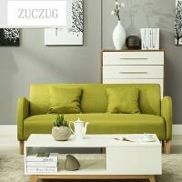ZUCZUG现代日式小沙发组合 小户型布艺单人双人三人 客厅懒人沙发椅子