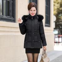 中老年女装棉衣短款妈妈装棉袄中年女40-50-60岁冬装外套羽