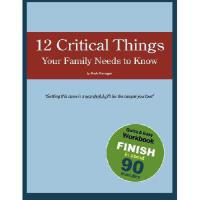 【预订】12 Critical Things Your Family Needs to Know