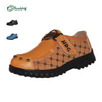 【 99元两件】乖乖狗童鞋 儿童休闲皮鞋 男童时尚鞋子
