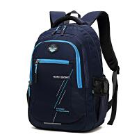防水双肩包初中学生男生轻便书包小学生男孩4-6年级校园背包