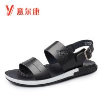 意尔康男鞋清爽透气夏季凉鞋沙滩男鞋轻便男士凉鞋