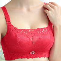 内衣女无钢圈薄款上托聚拢收副乳调整型小胸文胸性感抹胸蕾丝胸罩