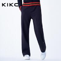 kikc休闲裤男春夏季新款黑色青少年休闲时尚运动潮流宽松卫裤男士