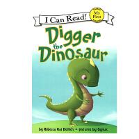 英文原版 Digger the Dinosaur 可爱的小恐龙迪格[4-8岁]