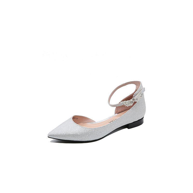 Teenmix/天美意2017夏专柜同款闪布个性优雅女凉鞋AP301BK7炫舞联名款