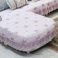欧式沙发垫子套罩U型简欧布艺四季适用坐垫套防滑保护罩定制