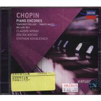 [现货]肖邦钢琴作品集 4783352 进口CD DECCA 阿劳等