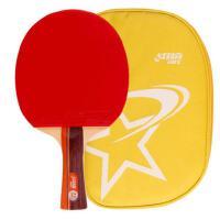 红双喜 DHS 双面反胶弧圈结合快攻乒乓球拍单拍R2002(横拍) 带原装拍套